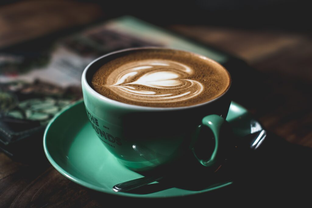 love in a coffee
